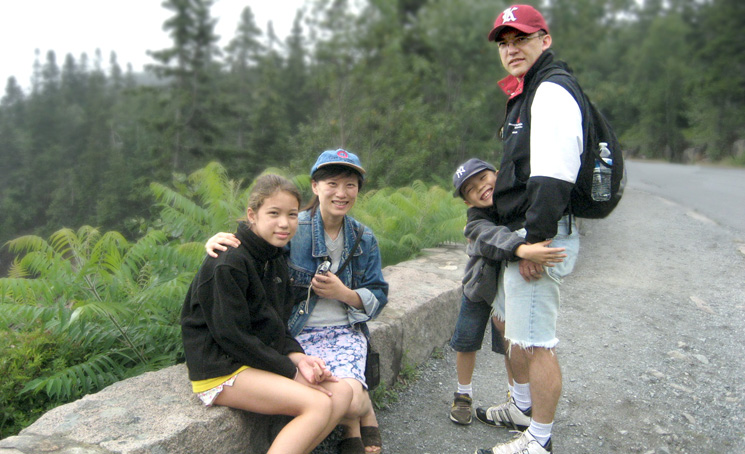 Family outings:  a favorite way for spending time outside of the lab