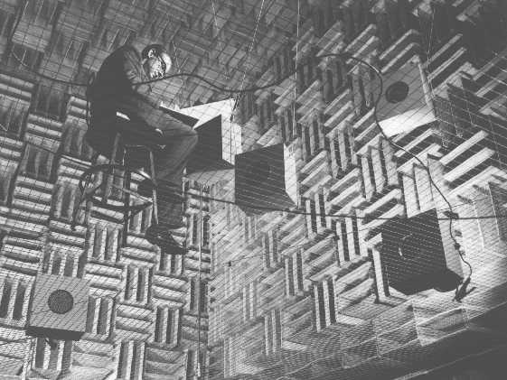 Anechoic Chamber Bell Labs