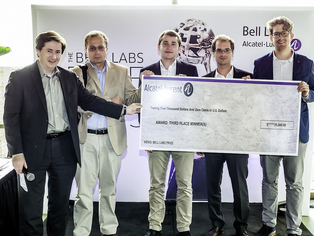 2015 Bell Labs Prize Runner Up